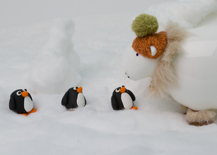 herdy heads South to the Antarctic animation